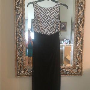 Black dress worn sequin top. Like new!